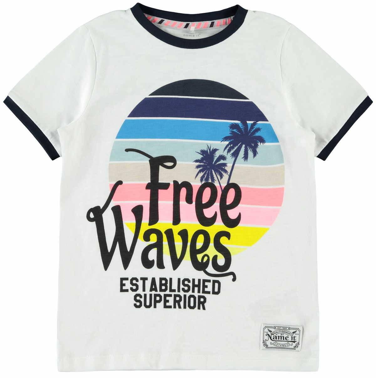NAME IT Jungen Nkmdmtur Ss Top T-Shirt